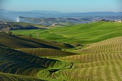 Colline morbide (Antonio Cinotti ) Tags: panorama landscape nikon italia hills siena toscana paesaggio colline cretesenesi asciano cretesenese paesaggiotoscano torreacastello nikond7100