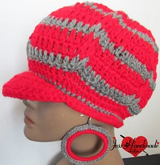 """Crochet hat set • <a style=""""font-size:0.8em;"""" href=""""http://www.flickr.com/photos/66263733@N06/11371808553/"""" target=""""_blank"""">View on Flickr</a>"""