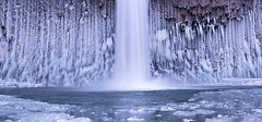 Cold (Michael Bollino) Tags: winter fall ice water frozen waterfall nikon northwest pano freeze abiqua