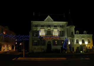 Bourg-Argental (42), illuminations 2010