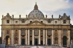 Saint Peter (Vatican city) (B.B. Wijdieks) Tags: city urban italy pope vatican rome roma gold warm italia pentax swiss faith guard vaticano da 28 bb rom hdr paus 2010 k20d 1650mm wijdieks