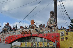 The Studio of José Rodríguez Fuster (Corvair Owner) Tags: art buildings painting outdoors design artwork ceramics artist december graphic drawing jose havana cuba engraving cuban popular josé rodríguez fuster 2013 fusteria fusterlandia