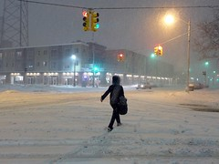 Snow Storm 2014 (Bob Ponder Photography) Tags: leica snow detroit midtown