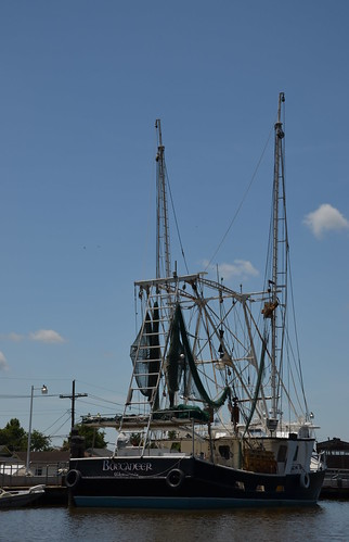 usa louisiana neworleans fishingboat fishermanboat