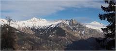 Grand Perron des Encombres, Croix des Têtes et Mont Brequin