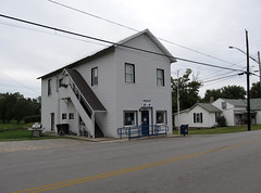 Reesville Post Office (Lunken Spotter) Tags: road county ohio building rural buildings town community mail postoffice roadtrip structure po oh local roads usps roadside towns smalltown township usmail unincorporated clintoncounty ruralohio reesville richlandtownship