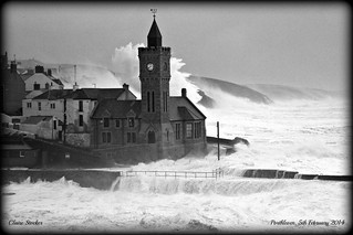 Porthleven; 5th February 2014 storms