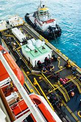 Refueling (MattMeyers87) Tags: cruise vacation industrial summit tugboat stmaarten sintmaarten philipsburgport