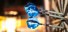 Darts (S-Antibes) Tags: steel bull bullseye darts flights freizeit stahl pfeile aerodynamik dartflights