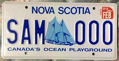 NOVA SCOTIA 2015--- SAMPLE PLATE (woody1778a) Tags: road canada novascotia licenseplate collection number license sample registration npcc numberplate registrationplate carplate 2015 cartags alpca alpca1778 alpcamember