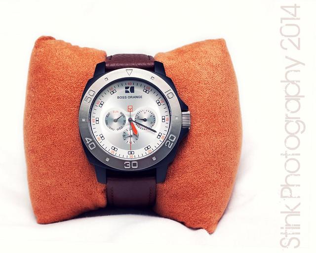 boss watch timepiece wristwatch hugoboss watvh bossorange