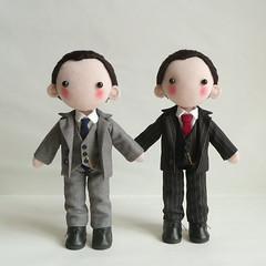 MycroftS (pepeluiv) Tags: doll greg handmade bbc holmes lestrade sherlock mycroft