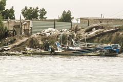Fishermen, Shatt Al-Arab Waterway, Iraq