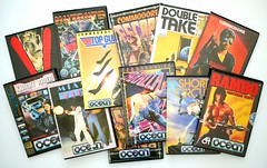 Ocean, disk titles, C64 (zapposh) Tags: ocean box wallet games retro collection gaming disk cover elite commodore c64 collecting titles disks diskette commodore64