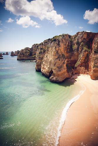 """""""The Praias of Lagos"""", Portugal, Lagos, Praia Dona Ana"""