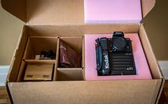 Kodak DCS 200 ci Pro Digital Camera (maoby) Tags: camera old sexy history lens model nikon kodak box collection histoire nikkor numérique boxcamera appareilphoto maoby