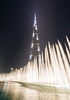 Climax (Empty Quarter) Tags: longexposure light building tower water fountain architecture night skyscraper buildings mall nikon dubai king united uae champion off emirates khalifa arab lit blast f4 burj climax 1635 d600 emptyquarter na3eem