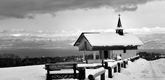 Chapelle de Champeillant (joménager) Tags: 1755 afs blanc chapelle d300s et f28 féternes gavot hautesavoie hiver neige nikon nikonpassion noir paysage rhônealpes