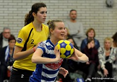 BW_Dalto_150207_62_DSC_6061 (RV_61, pics are all rights reserved) Tags: amsterdam korfbal blauwwit dalto korfballeague robvisser rvpics blauwwithal