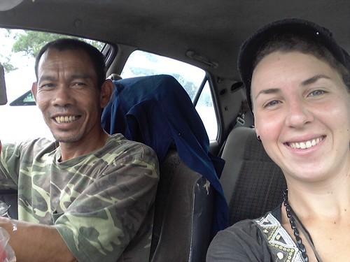 Avec Manaf, autostop, Malaisie