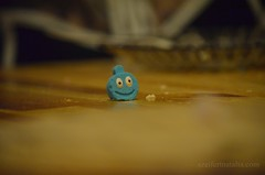 Candy (Natalia Szeifert) Tags: birthday blue kitchen smile table candy sweet candyfigure