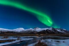 Bright Night (Kristinn R.) Tags: iceland nikon northernlights auroraborealis nikonphotography nikond3x kristinnr
