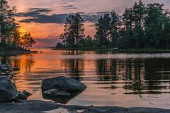 Valaam, Ladoga lake (misus1504 (Elena)) Tags: travel sunset lake landscape dawn russia adventure karelia breaking valaam ladoga greatphotographers elitegalleryaoi ultimatephotographers