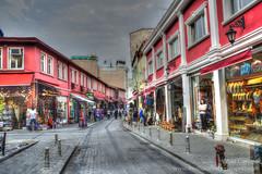 Colourful Istanbul (Alcu3- www.thisthatandthepassport.com) Tags: street color shop turkey calle store istanbul colores tienda hdr turquia shopkeeper almacen estanbul