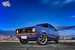 SR20 Turbo MKII Escort (Allshots Imaging) Tags: auto camera 2 classic ford car wheel digital photoshop canon photography eos drive photo exposure nissan power small rear engine fast automotive ps retro turbo photograph ii blended 70s vehicle mk escort lr digitally powered mkii blending lightroom driven rwd sr20 40d eos40d