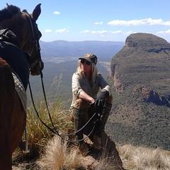 Cecile Auersperg Horse Canyon (Nancy D. Brown) Tags: africa horse safari horsebackriding ceicilevonauersperg outinafricaencounters