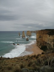 DSC06884 (Kate Hedin) Tags: ocean road bridge sea cliff london beach water rock arch pacific great australia melbourne arches victoria grotto twelve apostles formations the