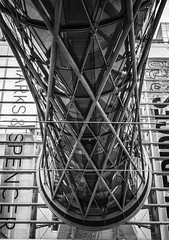 Manchester 2016 (Ollie Smith Photography) Tags: monochrome architecture manchester mono blackwhite nikon may citycentre lightroom sigma1750 silverefexpro2 d7200