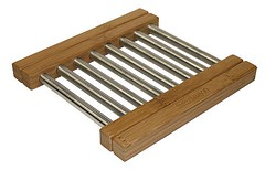 TVBEX (mountainwoods) Tags: wood mountain woods steel bamboo rack simply serving stainless racks cooling expandable trivets
