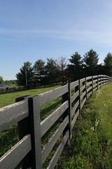 Fence & Field (Laurence's Pictures) Tags: rural america landscape kentucky barns farms scenes berea appalacia