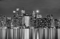 TORONTO SKYLINE SERIES (blink to click) Tags: tdot toronto ontario canada downtown landmark buildings skyscrapers highrise architecture architectural cntower tourism tourist sky tall skyline blinktoclick blink2click nikond750 night water lakeontario lake city