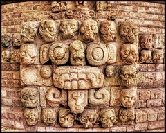 Chaac (drlopezfranco) Tags: sculpture rain stone museum skulls lluvia ancient ruins maya god honduras escultura mayan ruinas museo calaveras antiguo dios piedra copn arqueologa chak tlaloc archeaology chaac