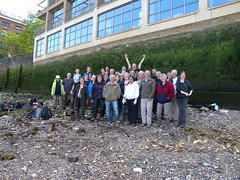 Team photo (Thames Discovery Programme) Tags: london archaeology training community riverthames rotherhithe thamesdiscoveryprogramme fsw03