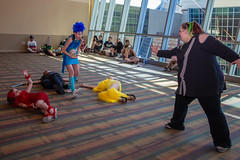 Phoenix Comicon 2016 (Pyrat Wesly) Tags: phxcc 2016 downtown phoenixconventioncenter arizona phoenix 2016phoenixcomicon fans costume cosplay voiceactor canon 6d pyratwesly tamron2875mmf28 430exii mysterymen
