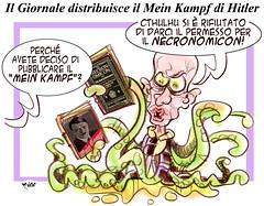 Kampf (Moise-Creativo Galattico) Tags: vignette satira attualit moise giornalismo meinkampf sallusti editoriali moiseditoriali editorialiafumetti