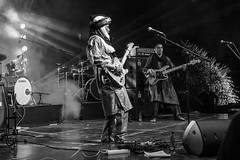 Ezza in concert, in explore 14 June 2016 (kurjuz) Tags: ezza ghanafest2016 malta northafrican tuareg blackandwhite concert guitar rock worldmusic