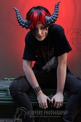Male Wyvern (5) (Dezmin) Tags: rock drag photography model punk king alt alice horns cooper loki demon devil corset spine tentacle mx slippery alternative eloquent genderfuck