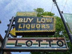 Morand's Buy Low Liquors (find myself a city (1001 Afternoons in Chicago)) Tags: beverly