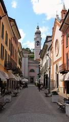 Menaggio - Lake Como Italy (Gilli8888) Tags: street italy lake church buildings churchtower belltower lakecomo lombardia lombardy menaggio