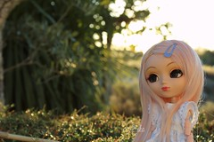 Tropical sensation - 2015 (Alluka Zoldyck) Tags: sunset summer sun portugal vintage doll dolls handmade pastel 2006 planning wig tropical pullip custom t rare pullips custo jun sensation obitsu junplanning papin alluka