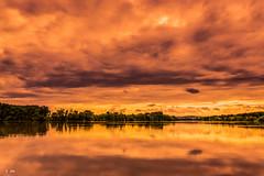 La Sane (Stphane Slo) Tags: france reflection nature clouds landscape eau pentax hiver nuages paysage campagne reflexion printemps ain sane pentaxk3ii