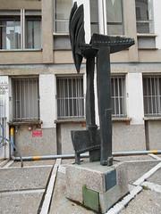 scultura, INAIL, Venezia (Pivari.com) Tags: venezia scultura inail