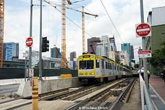 LOS ANGELES--107 lv Subway OB (milantram) Tags: losangeles blueline lightrail trams trolleys streetcars lacmta electricrailtransport railsystemslosangeles