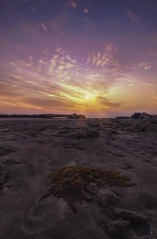 Nature has its own Story- Qatar (zai Qtr) Tags: sunset sea sky nature clouds sand nikon tokina doha qatar salwa zaiqtr