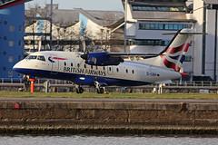 D-CIRP Dornier DO328-120 Sun Air Scandinavia - British Airways London City March 30th 2016 (michael_hibbins) Tags: