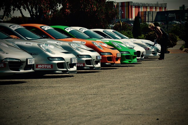 Porsche club meeting